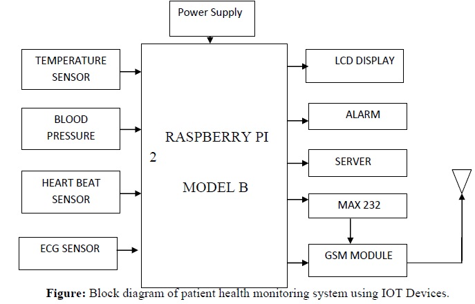 Patient Health Monitoring System Using IOT Devices