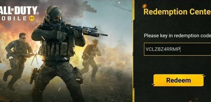 Call of Duty Redeem Code