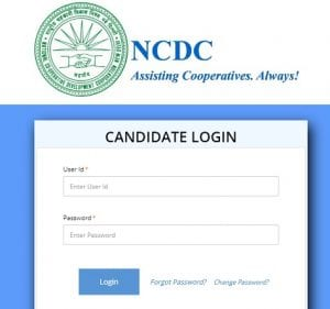 NCDC Admit