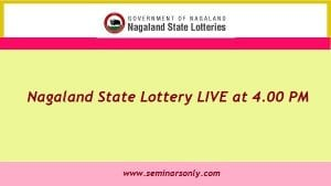 nagaland state lotteries 4 pm