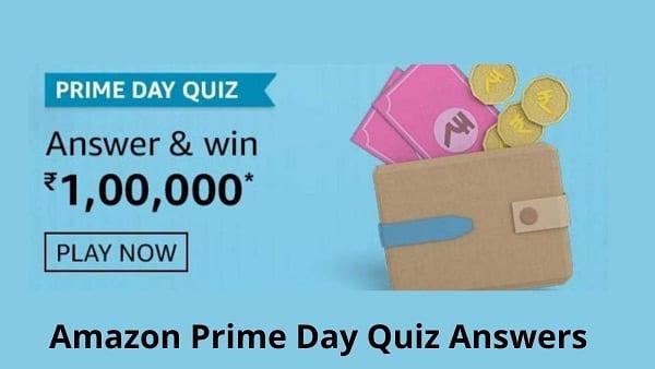 Amazon Prime Day 2021 Quiz