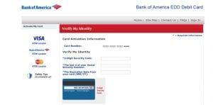 Bank of America Activate Debit Card