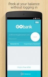 GoBank login