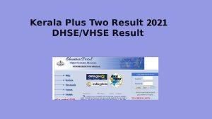 Kerala +2 result